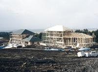 平成8年冬より施設拡張工事スタート